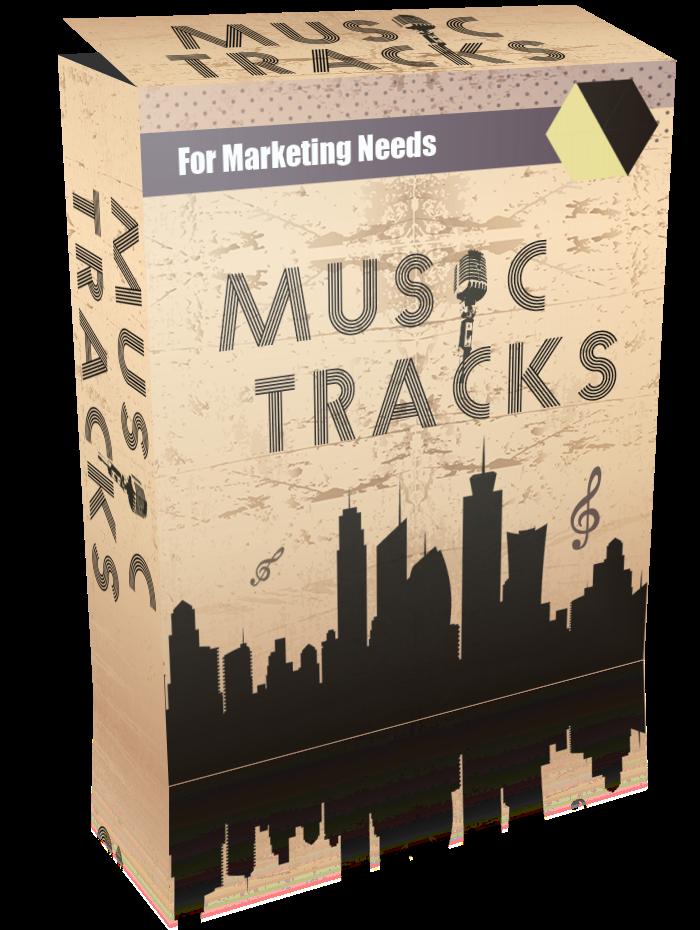 符合行销需求的音乐曲目-专业品质的音轨行销