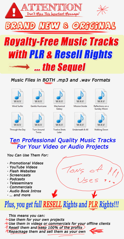 用于营销视频和项目的高质量原始音乐曲目