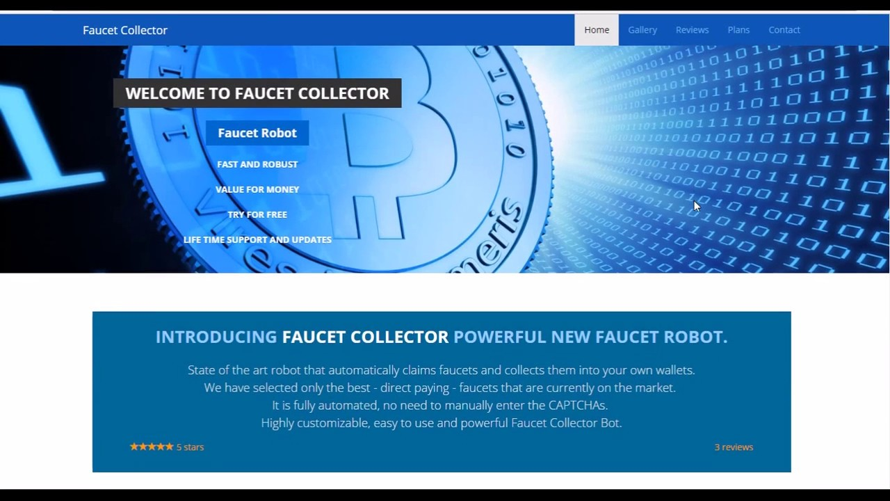 GET] Faucet Collector Bot Cracked – Powerful New Faucet