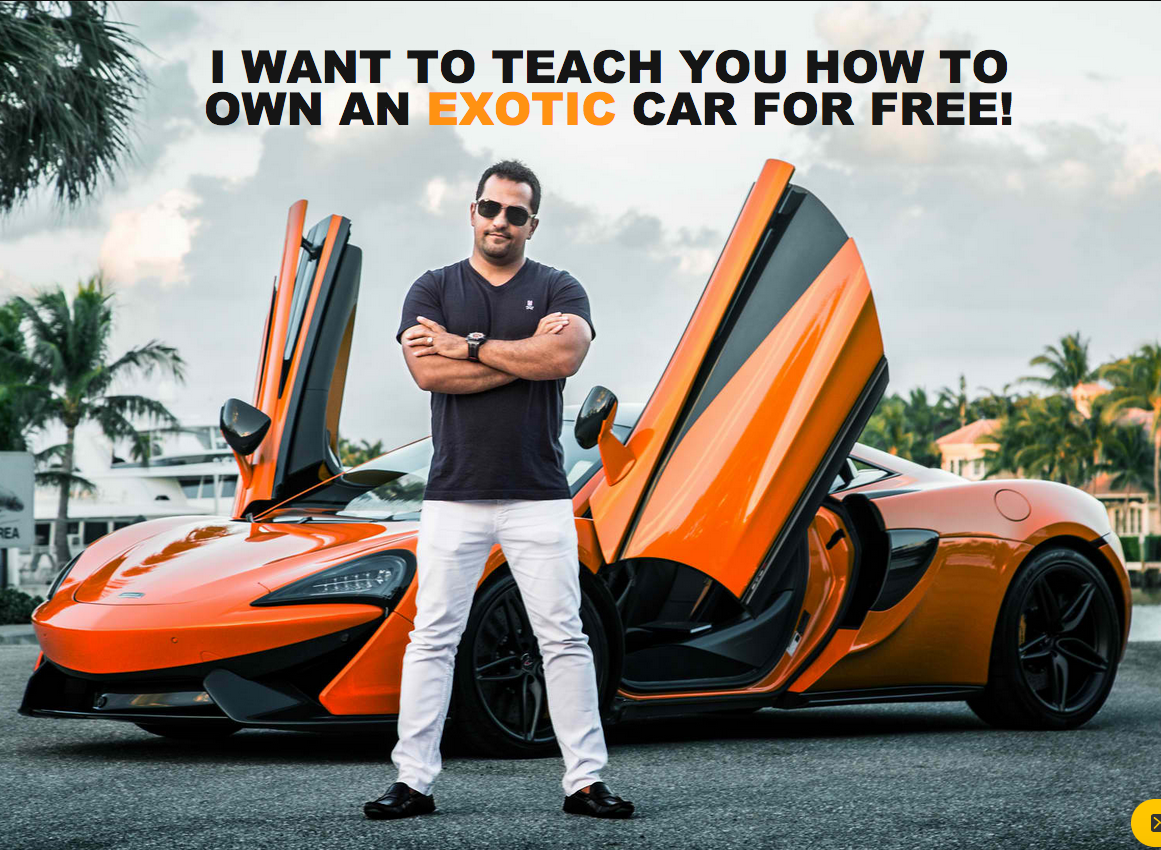 cheap course  exotic car hacks  financing bad credit