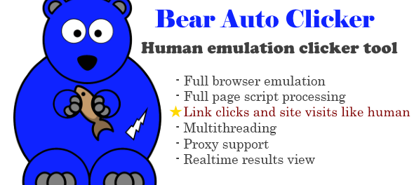 GET] Bear AutoClicker Bot Cracked – Traffic Generator Free